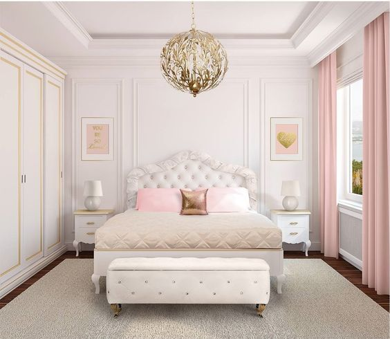 modern french bedroom 19