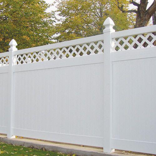 modern vinyl fence 18