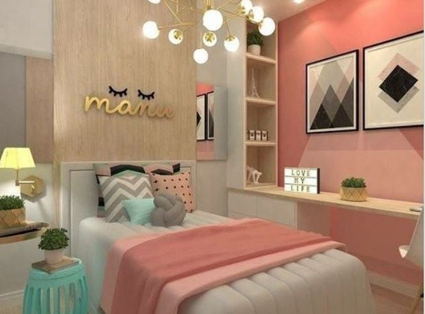 teen bedroom for girls feature
