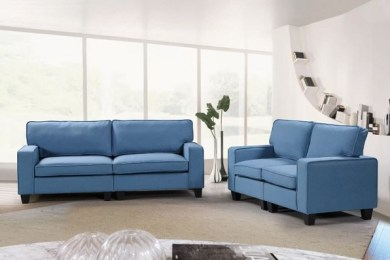 two piece living room set feature