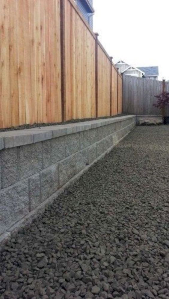 Modern Wood Fence 21