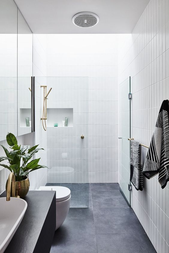 Scandinavian Bathroom Ideas 21
