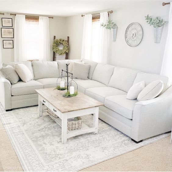 farmhouse living room 13