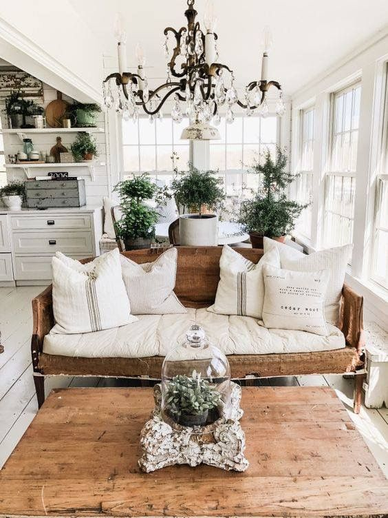 farmhouse living room 8