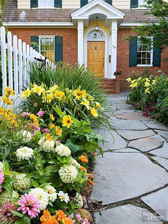 fence landscaping ideas 25