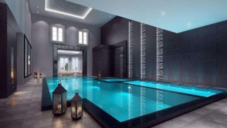 indoor swimming pool feature