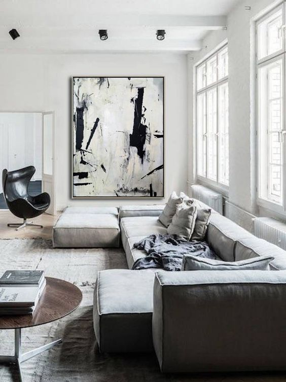 minimalist living room furniture 13