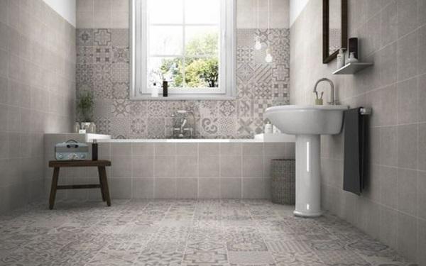 moroccan bathroom decor feature