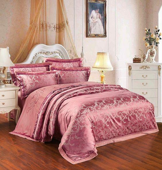 rose gold bedroom 16