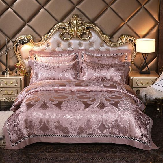 rose gold bedroom 17