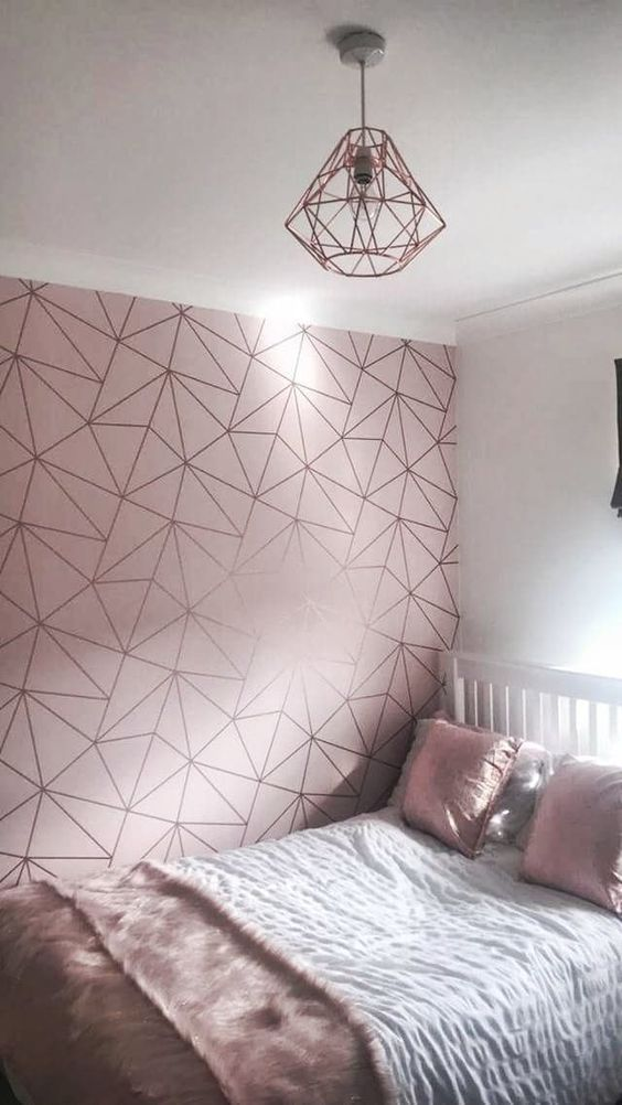 rose gold bedroom 3