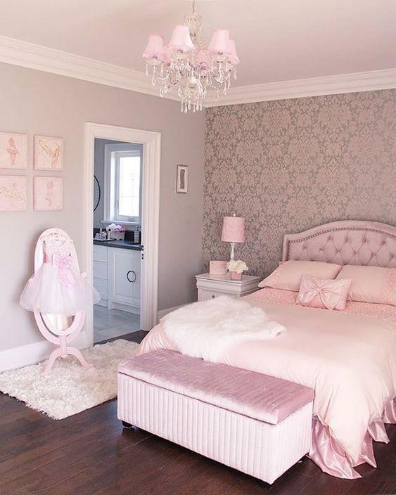 rose gold bedroom 4