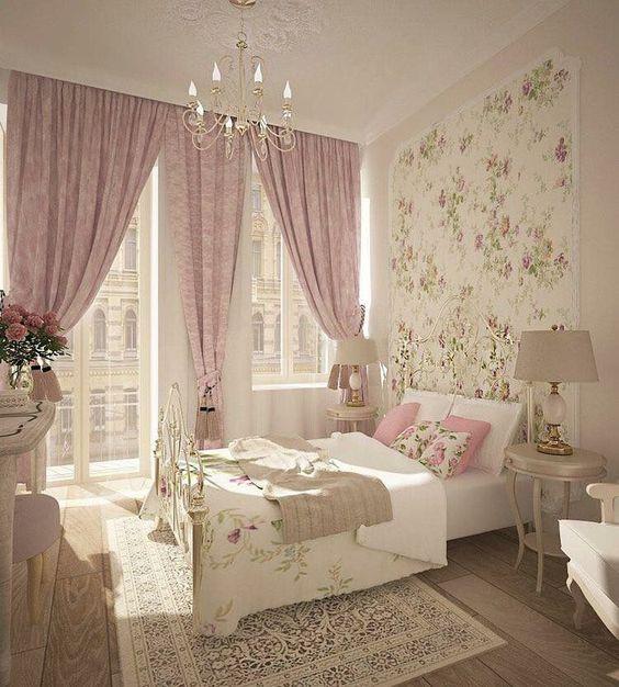 rose gold bedroom 6