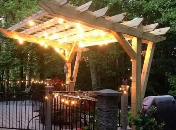 backyard pergola ideas feature