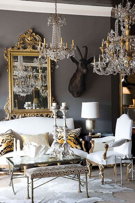 eclectic living room 11