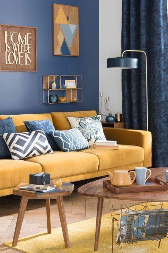 eclectic living room 17