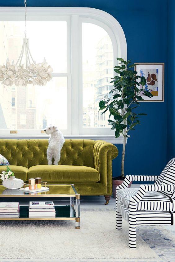 eclectic living room 18