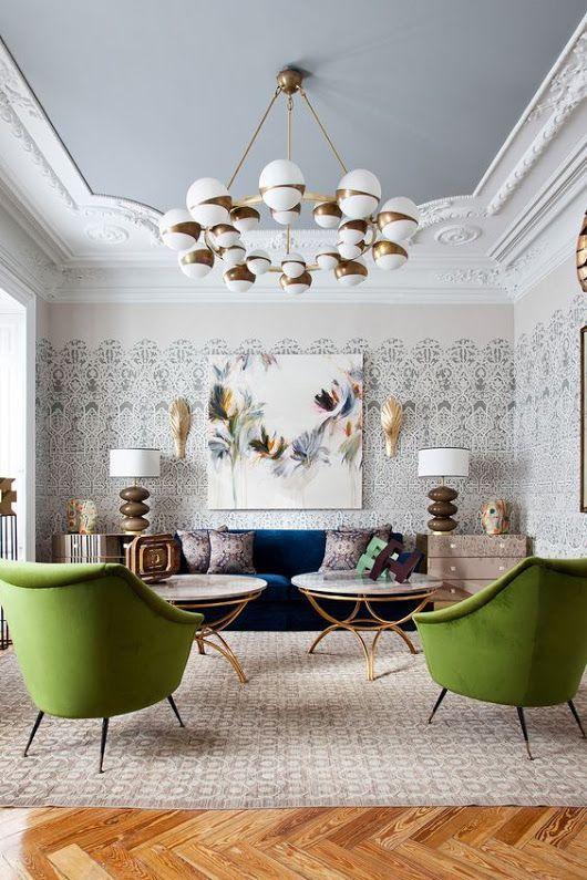 eclectic living room 19