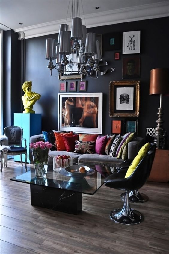 eclectic living room 6
