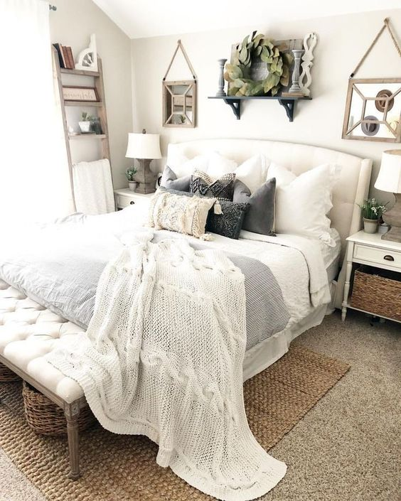 farmhouse bedroom decor 11