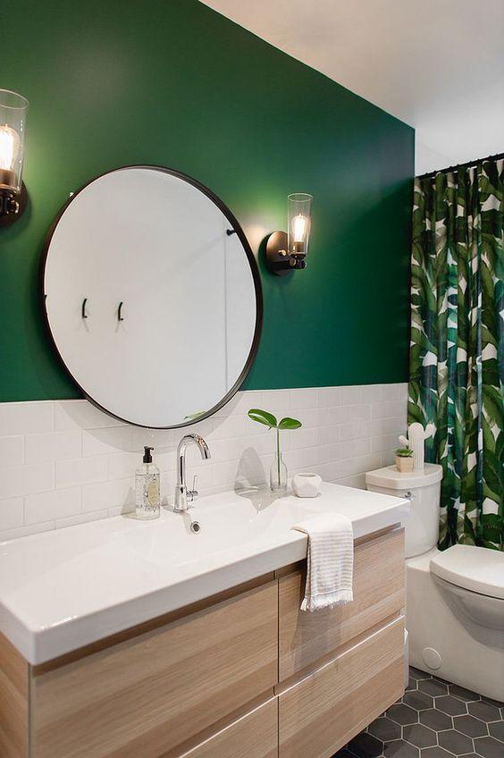 Green Bathroom Ideas: Brightly Fresh Decor