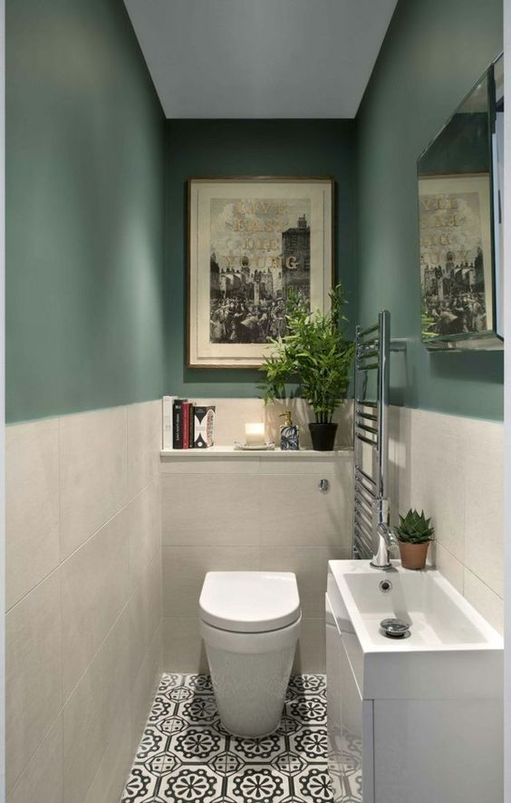 Green Bathroom Ideas: Decoratively Elegant Decor