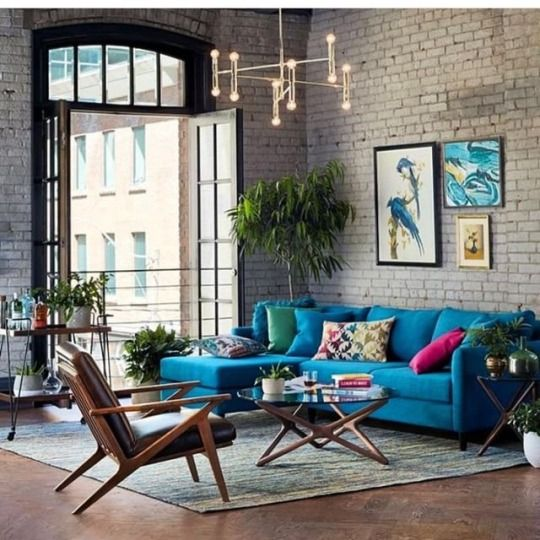 industrial living room 13