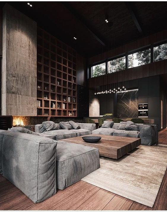 industrial living room 22
