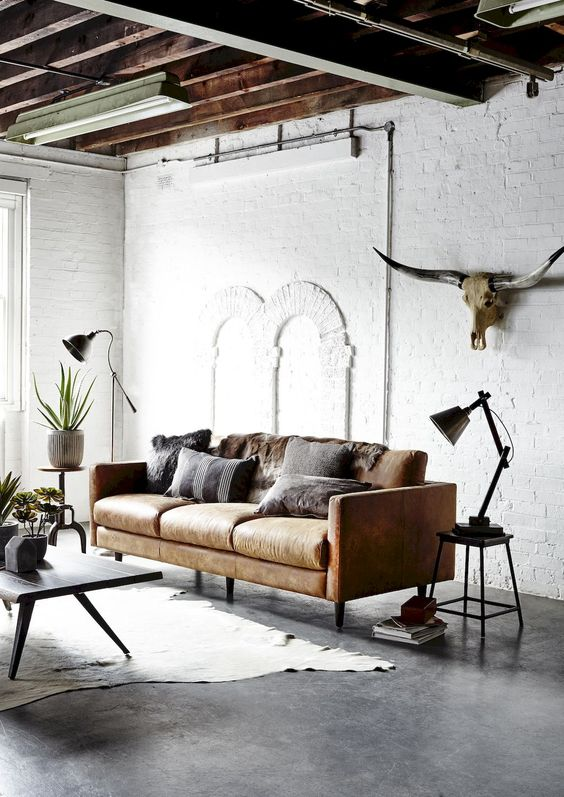 industrial living room 3