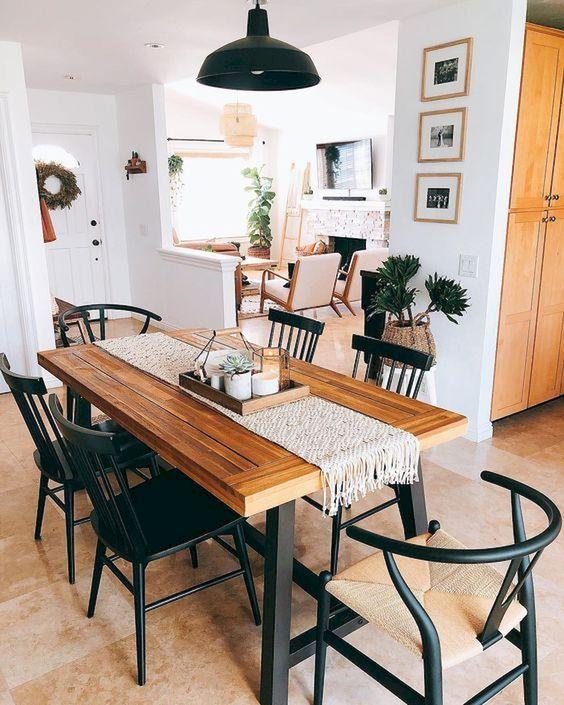 rustic dining room 14