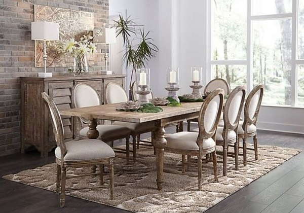 25+ Most Wonderful Rustic Dining Room Decor Ideas on A ...