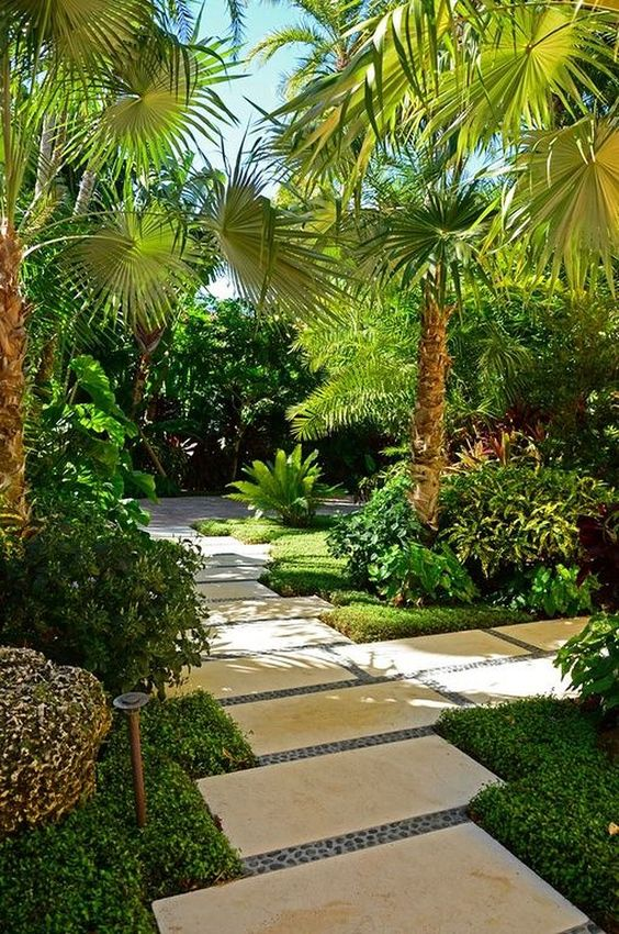 tropical backyard ideas 10