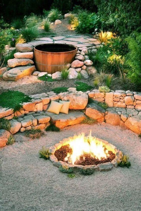 backyard firepit ideas 10
