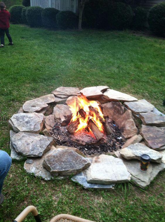 backyard firepit ideas 12