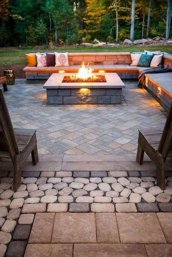 backyard firepit ideas 7