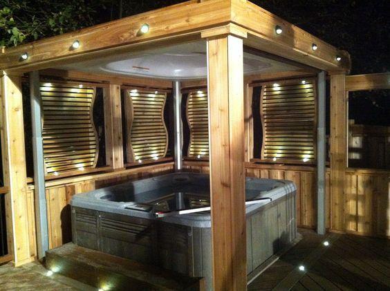 backyard hot tub 24