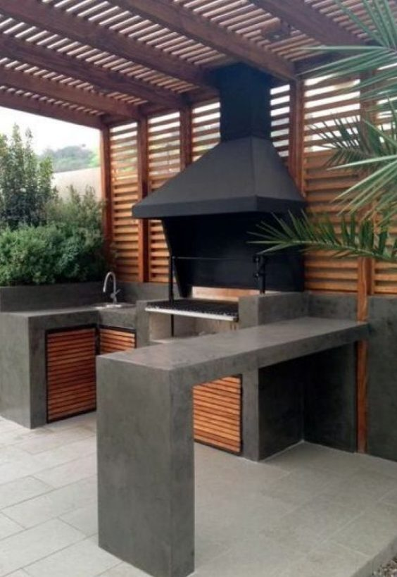 backyard kitchen ideas 15