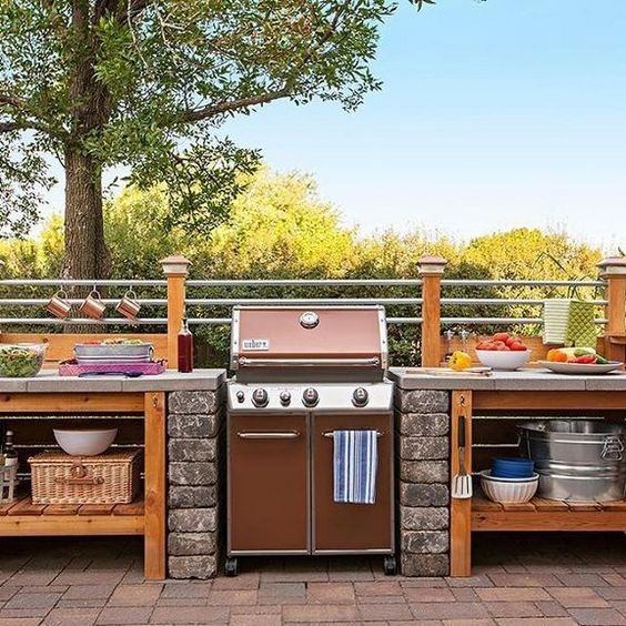 backyard kitchen ideas 17