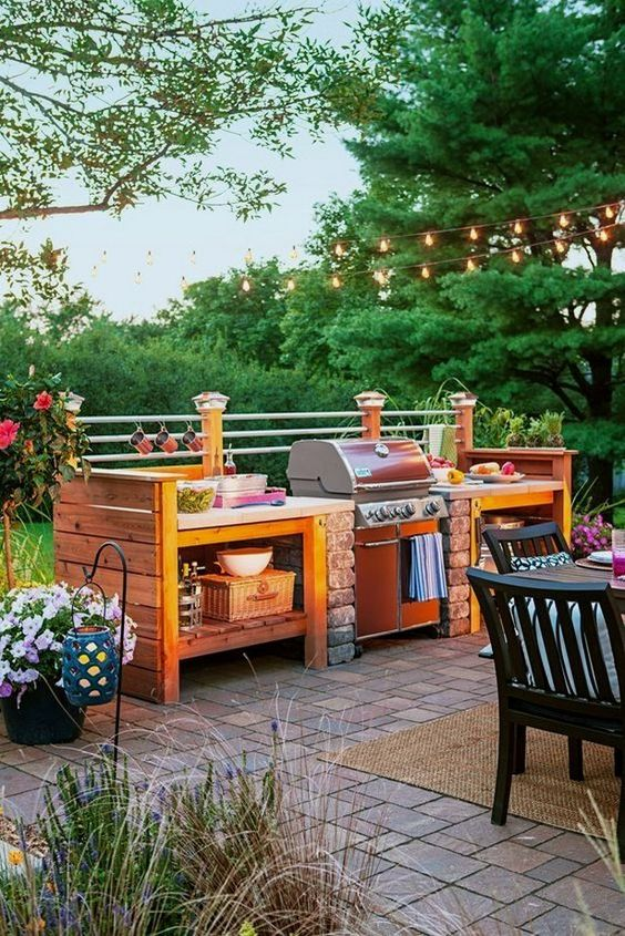 backyard kitchen ideas 18