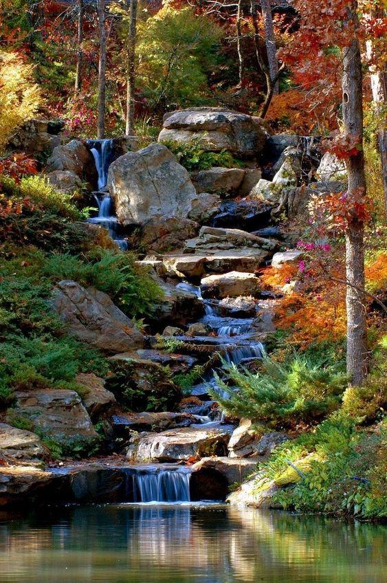 backyard waterfall ideas 24