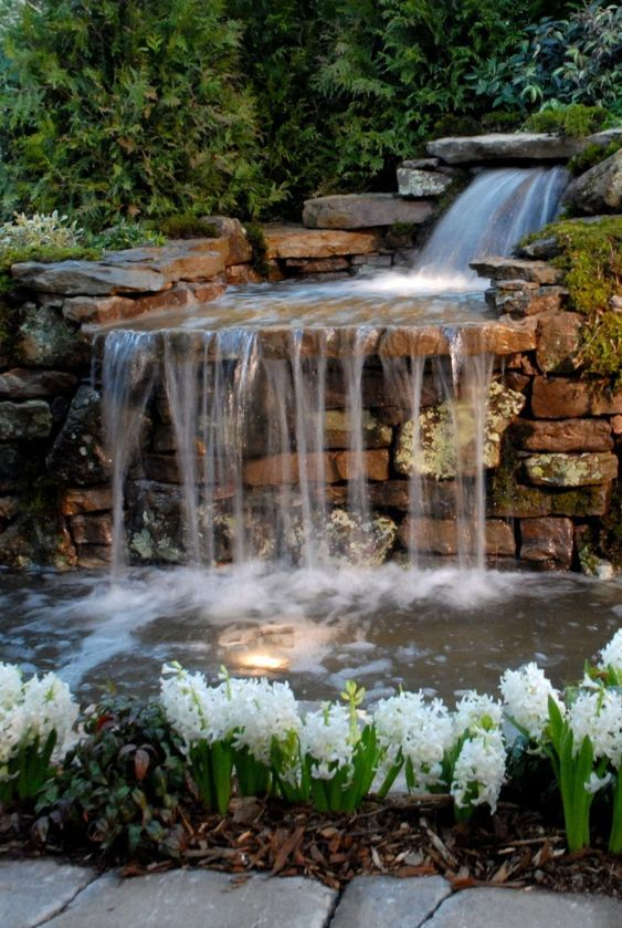 backyard waterfall ideas 9