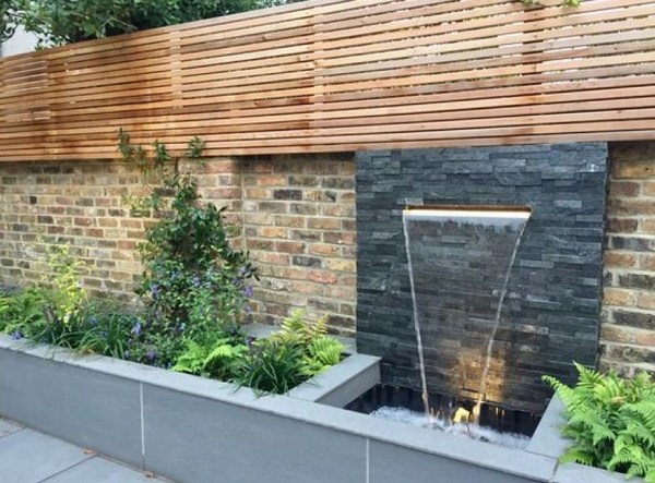 backyard waterfall ideas feature
