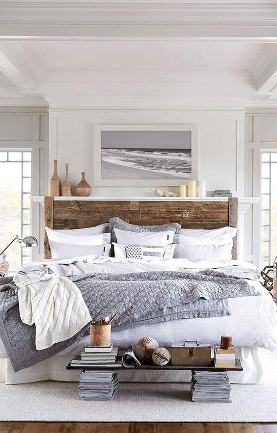 Beach Bedroom Ideas: Neutral Earthy Decor