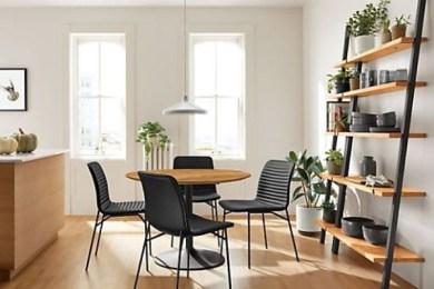 elegant dining room feature
