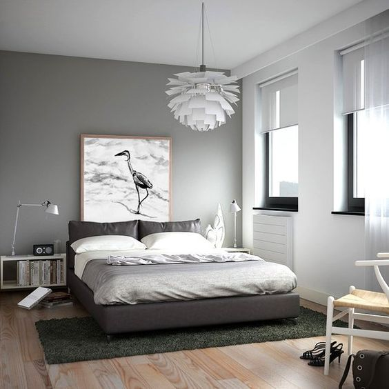 gray bedroom ideas 20