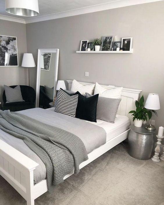 gray bedroom ideas 5