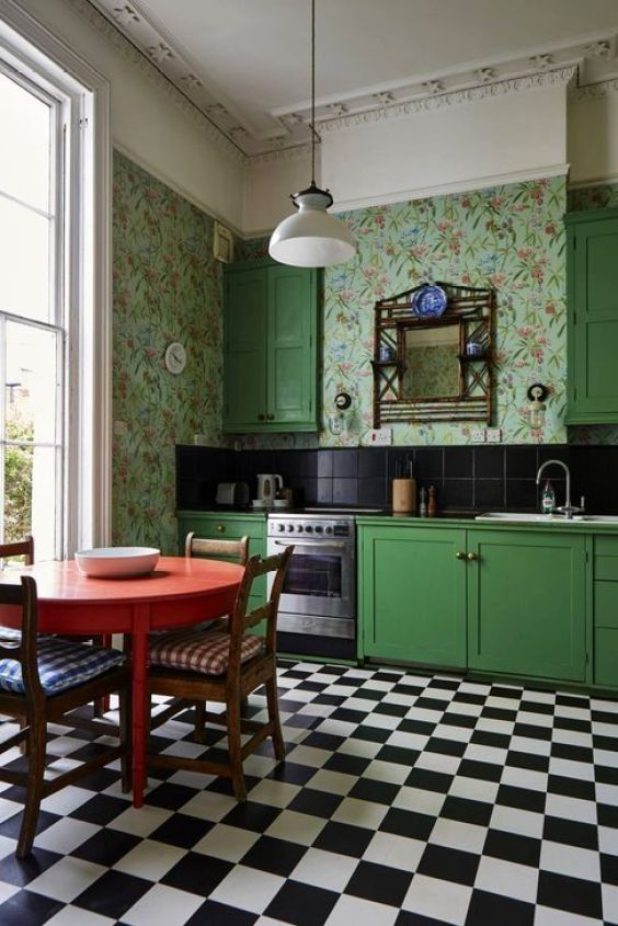 green kitchen ideas 3