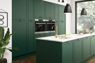 green kitchen ideas feature