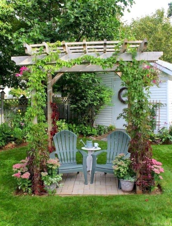 rustic backyard ideas 22