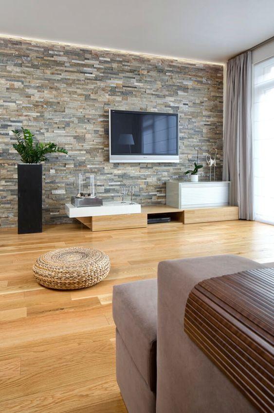 rustic living room 18